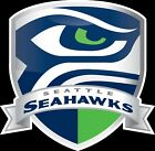 Seattle Seahawks Shield Logo Vinyl Decal / Sticker 5 sizes!! $2.99 USD on eBay