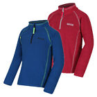 Regatta Lennie Kids Quick Drying Warm Half Zip Fleece