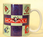 Hasbro Monopoly Game Coffee Mug Go To Jail Free Parking Just Visiting 2002