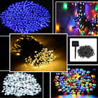 100-500 LED Solar Powered String Fairy Lights Wedding Garden Party Xmas Home
