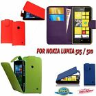 PU Leather Book Wallet Flip Case Cover Nokia Lumia 525 / 520 - UK SELLER