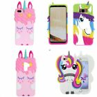 3D Cartoon Animal Soft Silicone Phone Cute Case Cover For iPhone Samsung S9Plus