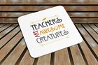 Teachers Are Awesome Creatures COASTER Funny Novelty GiftEnd of School Year