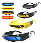 SPACE ALIEN COSTUME Party CYCLOPS Futuristic Robot WRAP SHIELD SUN GLASSES Visor