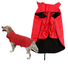 Dog Pet Outdoor Winter Waterproof Raincoat Jacket Clothes Fleece Reflective Safe