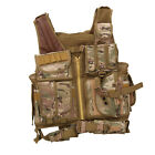 Adjustable Tactical Military Airsoft Molle Combat Army Plate Carrier Vest Unisex