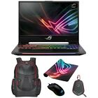"ASUS GL504 Hero II SCAR II 15.6"" 144Hz 3ms Core i7 8th  GTX 1070 1060 Laptop"