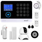 Wireless WiFi GSM SMS Smart Home Office Security Burglar Alarm System/IP Camera