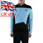 Star Trek Blue Shirt Starfleet Command Uniform Cosplay Star Trek TNG Uniform New on eBay