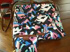 Fossil, Fiona Medium Crossbody and Emma RFID Mini Wallet, Painted Floral, NWOT