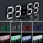 Hot LED Digital Large Big Snooze Wall Room Desk Alarm Clock Number Display Z