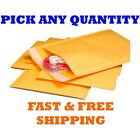 Внешний вид - #DVD 7.25x9.75 KRAFT BUBBLE MAILERS SHIPPING MAILING PADDED ENVELOPES 7.25x8.75