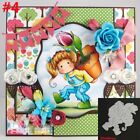 Cards Making Girl Cutting Dies Scrapbooking Embossing Stencil Cutter Punch