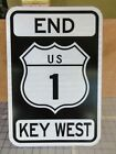 End US 1 Key West Road Sign Route 1 Street sign Great for bar man cave etc new