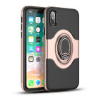 For iPhone X 6s 7 8 Plus Case Ring Shockproof Protective Rugged TPU Armor Cover