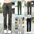 hot women army outdoor pocket causal pants