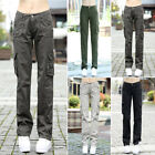 Hot Women Army Outdoor Pocket Causal Pants Loose Military Tr