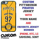 Pittsburgh Pirates YLW design Baseball Phone Case Customized for Samsung s9 etc.