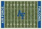 Air Force Falcons NCAA Home Field Indoor Area Rug