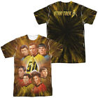 STAR TREK 50TH ANNIVERSARY CREW Licensed Adult Men's Graphic Tee Shirt SM-3XL on eBay