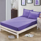 Room Simple Solid Color Comfortable Mattress Cover Bedspreads Bed Sheets