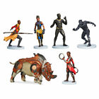 DISNEY BLACK PANTHER FIGUER PLAYSET NEW RELEASE NIB SET OF 6
