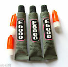 E6000 multipurpose industrial strength adhesive, super glue, 9 ml tubes