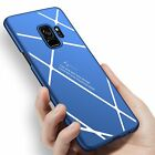 Stripped Lines Pattern Micro Matte Anti Fingerprint Phone Case For Samsung Galax