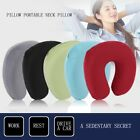 Travel Pillow Portable Neck Pillow U Shape Neck Cushion Flocking Pillow ZS