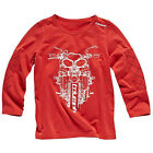 Triumph Junior Script Long Sleeved T Shirt Official Merchandise Red RRP £24 $9.97 USD on eBay