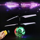 Fantastic Infrared Induction Drone Flying Flash LED Lighting Ball Helicopte Y2W5