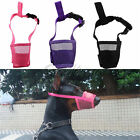 Training Dog Puppy Muzzle Anti Stop Bite Bark Chewing Mask All Various Size AI