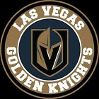 Las Vegas Golden Knights Circle LOGO Vinyl Decal / Sticker 5 Sizes!!! $4.99 USD on eBay