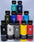 Hydro Flask Standard Mouth Stainless Steel Bottle With Flex Cap 18oz 21oz...