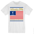 NEW USA Atlanta 1996 Centennial Olympic Games Vintage Coke Coca Cola 90s Shirt