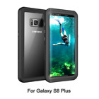 SSamsung Galaxy S8 Plus Case, Owkey Full-body Rugged Waterproof with Built-in Sc