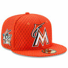 Miami Marlins New Era Orange 2017 Home Run Derby Side Patch 59FIFTY Fitted Hat on Ebay