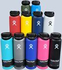 Hydro Flask Wide Mouth Stainless Steel Bottle With Flex Cap 18oz 32oz...