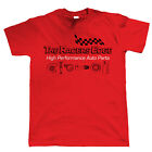 The Racers Edge, Mens Car T Shirt - JDM Tuner Drag Racing Fast & Furious Auto