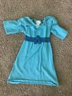 Bitty Baby By America Girl Size 4/5 Blue Dress