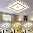 Внешний вид - Acrylic LED Ceiling Light Home Lamp Modern Elegant Living Room Bedroom Square