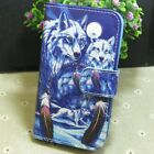 1x New Dream Catcher Wolf Wallet Holder flip case cover for Various Mobile Phone