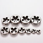 thread sizes metric - Alloy Tool Steel Metric Hand Die Thread Choose Size M5 To M22 Pitch Gr Nm