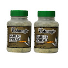 2 PACK Johnny's Garlic Spread and Seasoning 18oz Spices Bread, Prawns, dressing