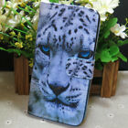 1x New Cool Leopard Wallet Holder flip case cover for Various Mobile phone