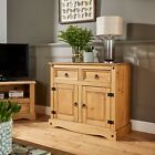 Corona Solid Pine Living Room Furniture Coffee Table Sideboard TV Stane Bookcase