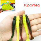 Lures Soft Bait bait Worm fishing lure with Fishing Takcle Grub Artificial Lure-
