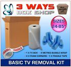 TV Cardboard Removal Box FULL Protection Kit Artwork, Pictures Mirrors & Storage
