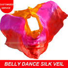 Women Chinese Silk Belly Dance Veil Belly Dancing Props Gift from Mom