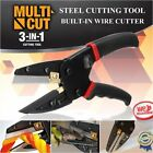 Multi-function Cut 3 in 1 Power Steel Cutting Tool With Built-In Wire Cutter MG
